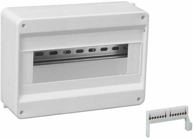 Rozdzielnica modułowa 1x12 natynkowa N+PE IP30 S-12 C.2071
