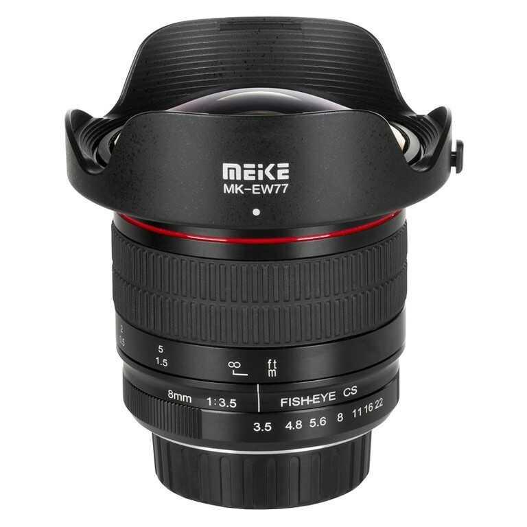 Obiektyw Meike MK-8mm F3.5 Canon EF