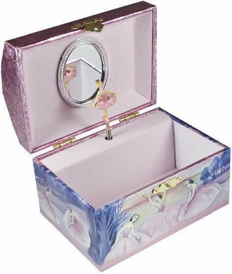Pudełko baletnice w różowych sukniach