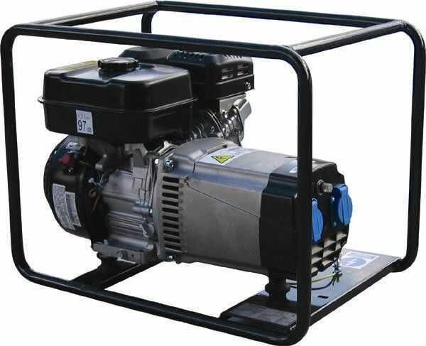 Agregat prądotwórczy jednofazowy SMG-3M-Z-AVR 3kW Zongshen generator Sumera Motor