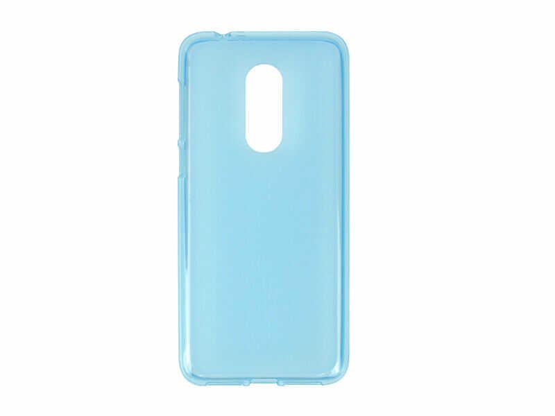 Alcatel 3 - etui na telefon FLEXmat Case - niebieski