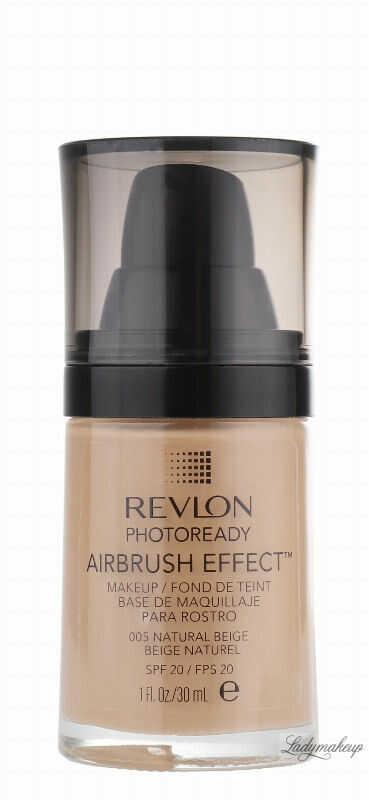 Revlon - PHOTOREADY/ AIRBRUSH EFFECT - Podkład - 005 Natural Beige