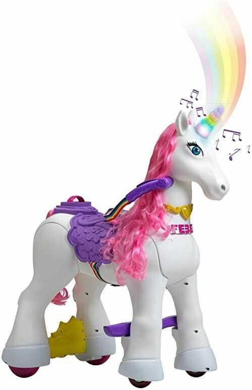 FEBER 800011603 - My Lovely Unicorn, pojazdy z jednorożcem dla dziewczynek od 3 do 6 lat, kolor biały
