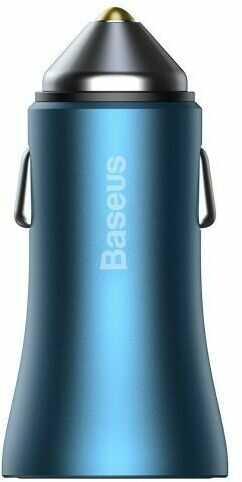 Baseus Golden Contactor Pro, 2x USB, QC, SCP, 40W (niebieski)