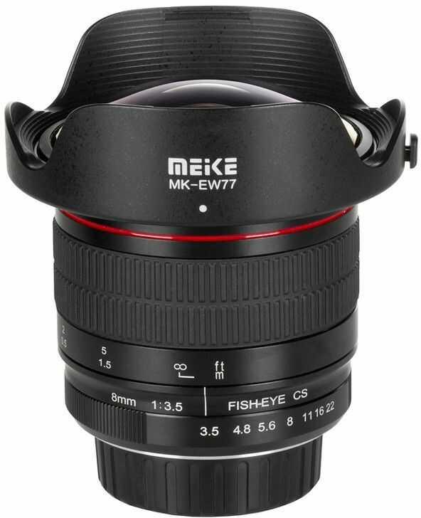 Obiektyw Meike MK-8mm F3.5 Nikon F