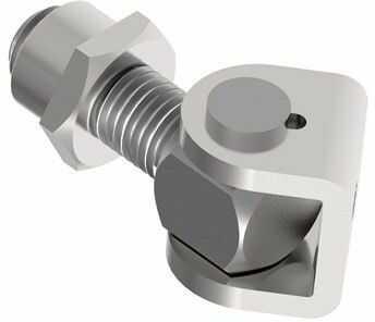 Zawias metalowy regulowany Zn, M12