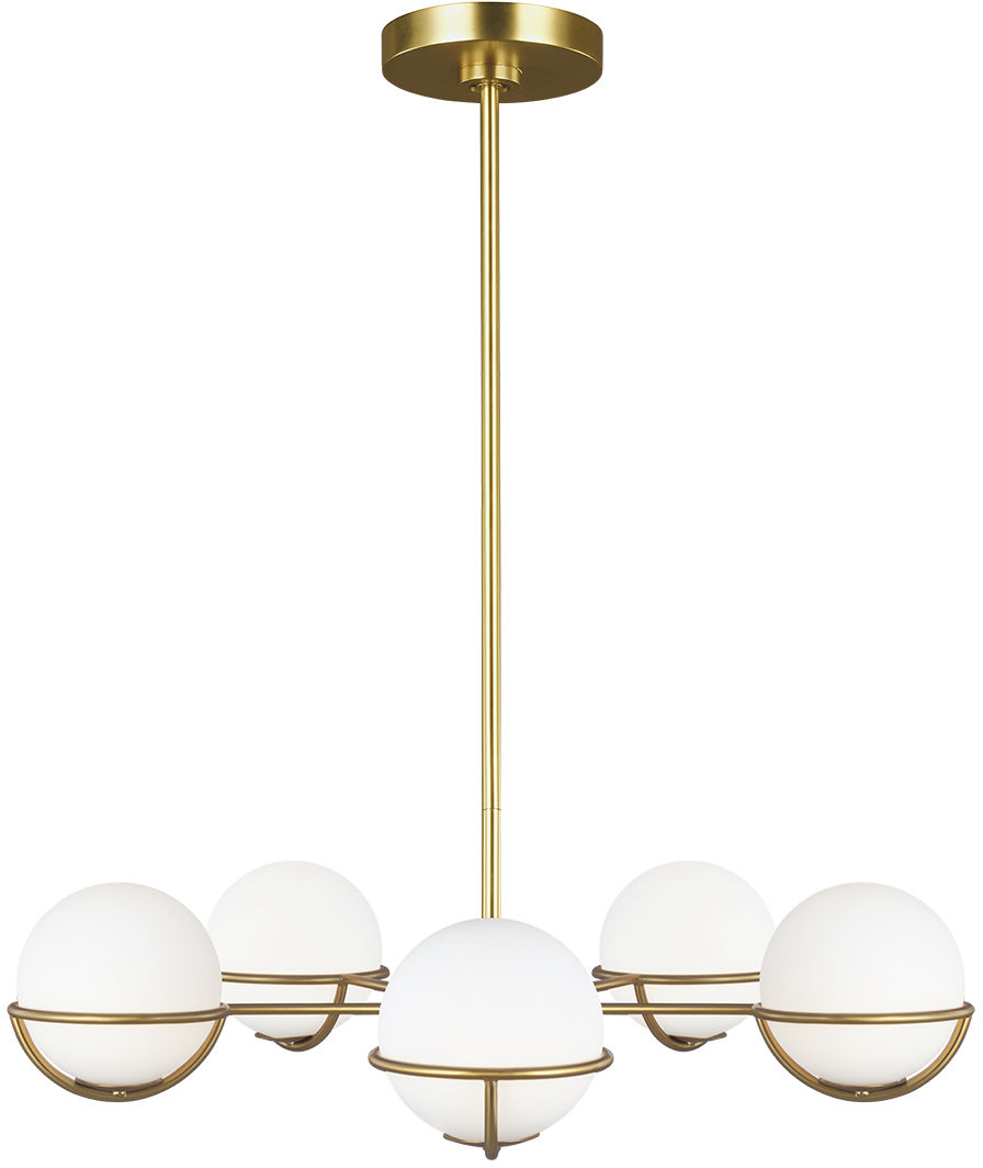 Apollo lampa wisząca 5 punktowa szklane kule FE-APOLLO5-BB - Feiss // Rabaty w koszyku i darmowa dostawa od 299zł !