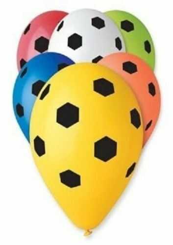 Balony Premium 12 Piłka nożna, 5 szt.