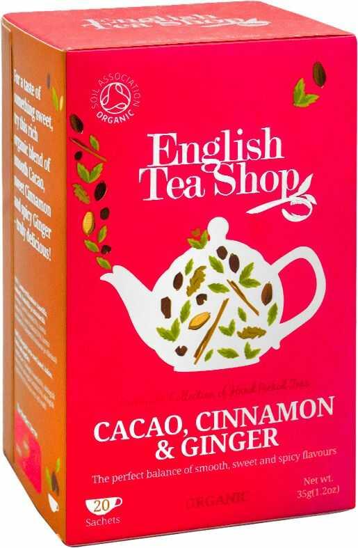 ETS Cocoa, Cinnamon, Ginger 20 saszetek