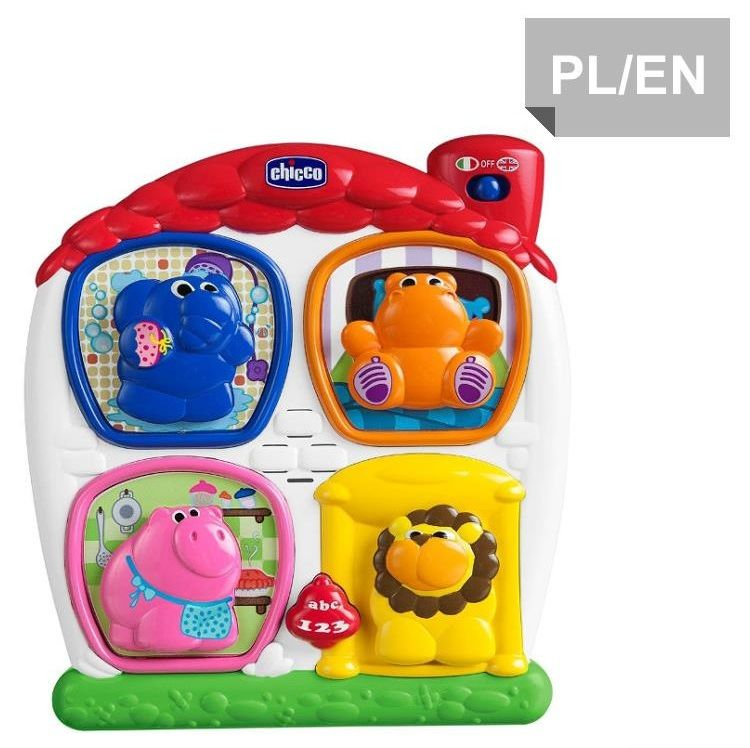 Chicco CHICCO Puzzle domek PL/E N
