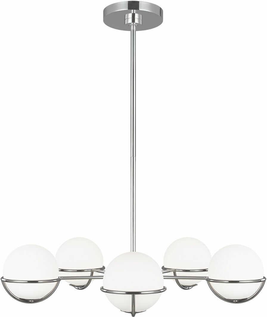 Apollo lampa sufitowa szklane kule chrom FE-APOLLO5-PN - Feiss // Rabaty w koszyku i darmowa dostawa od 299zł !