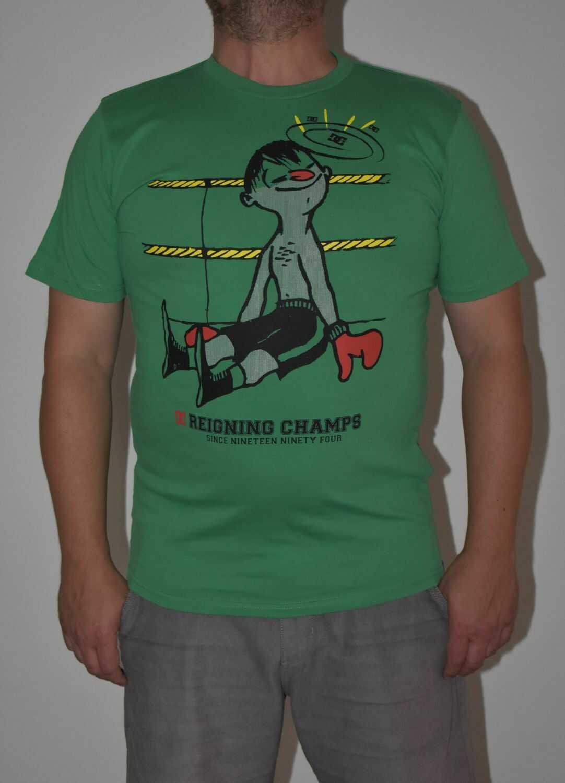 t-shirt męski DC RCH Green