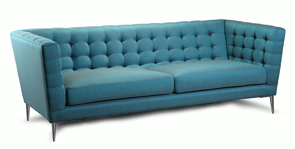 Kanapa Fryderyk 3os., sofa pikowana