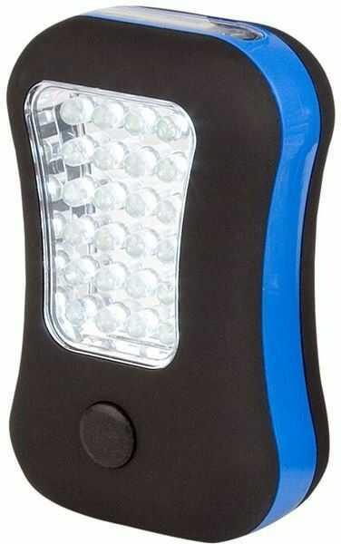 Latarka turystyczna LED z magnesem Abbey Camp 2w1