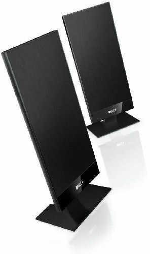 KEF T101 Kolumny stereo (surround) - 1 szt. - black +9 sklepów - przyjdź przetestuj lub zamów online+