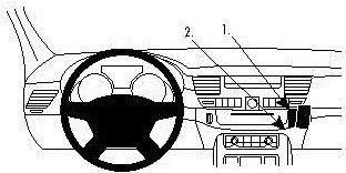 ProClip do Audi A8 11-17