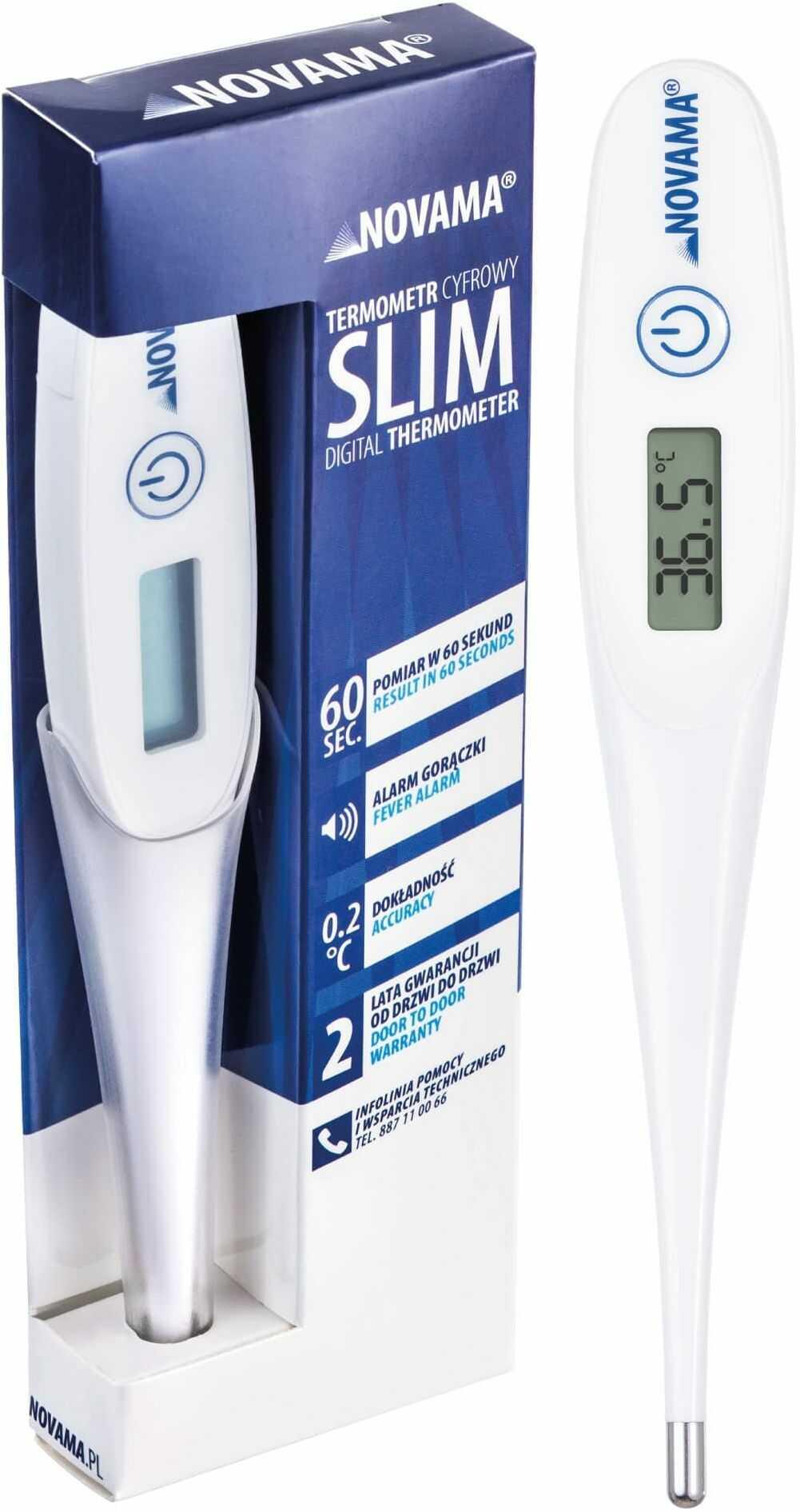 Termometr elektroniczny NOVAMA SLIM Nowoczesny termometr elektroniczny