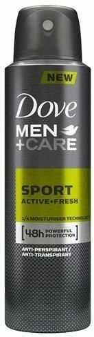 DOVE_Men + Care 48h Anti-Perspirant dezodorant w spray''u Active Fresh 150ml