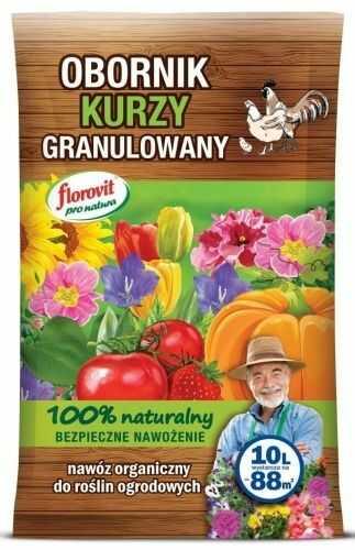 Obornik kurzy  granulowany  10 l florovit