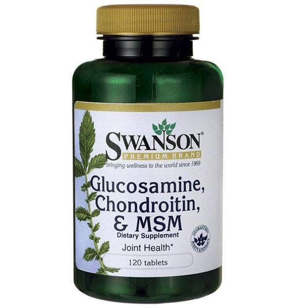 Glucosamine, Chondroitin & MSM 120tab