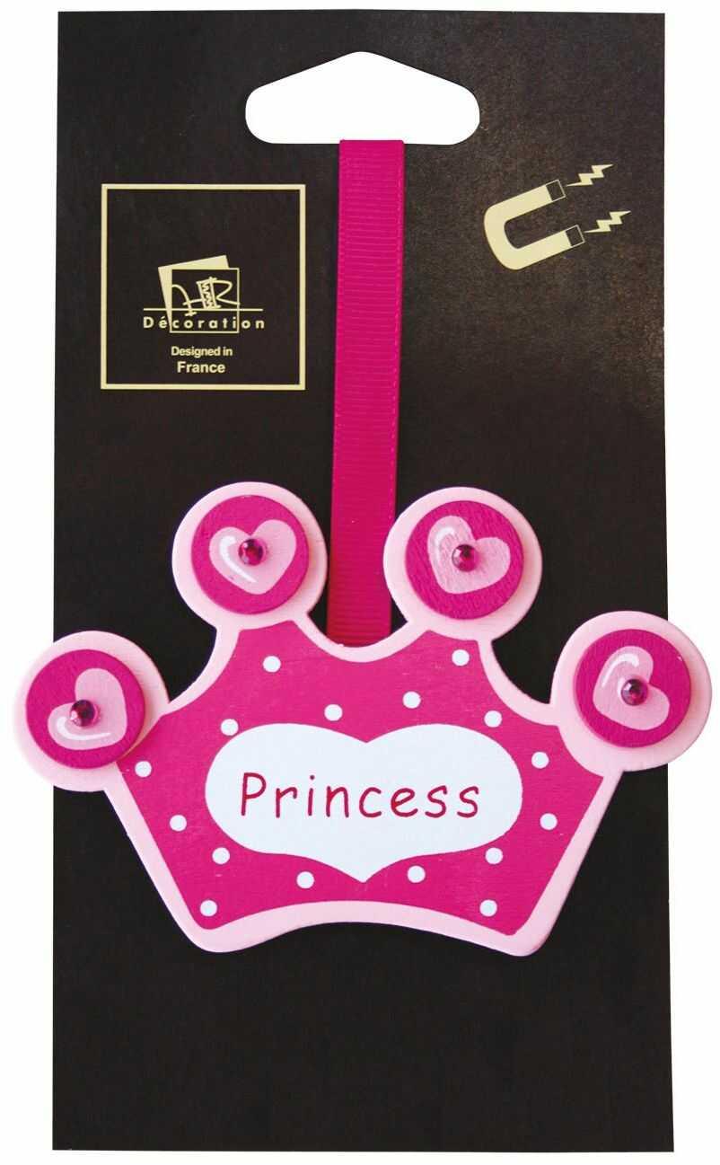 Magnes rzymski, klips magnetyczny do zasłon pokoju dziecięcego (Princess rose)