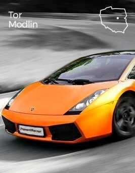 Jazda za kierownicą Lamborghini Gallardo  Tor Modlin