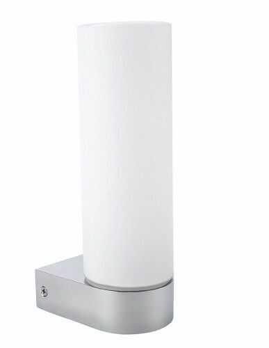 Kinkiet Tamiza 1L 8906-1W Auhilon pojedyńcza oprawa ścienna z mlecznym kloszem