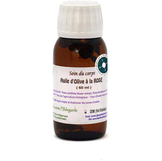 Olejek różany 60ml Bio*, - HU034
