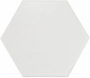 Hexatile Blanco Mate 17,5x20