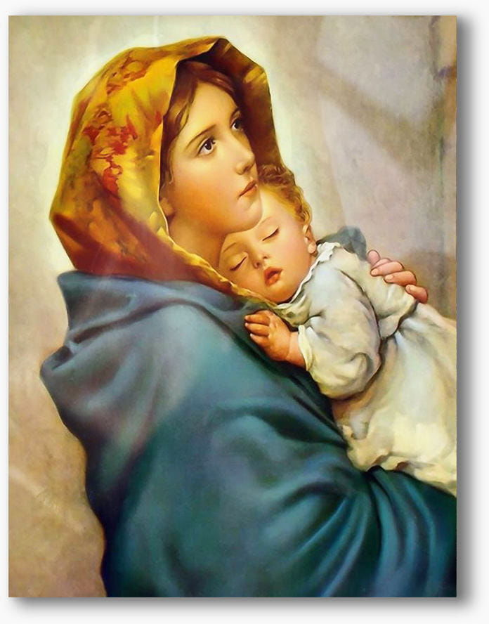 Matka Boża Cygańska, nowoczesny obraz religijny plexi