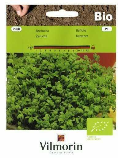 Rzeżucha BIO nasiona ekologiczne 5 g VILMORIN