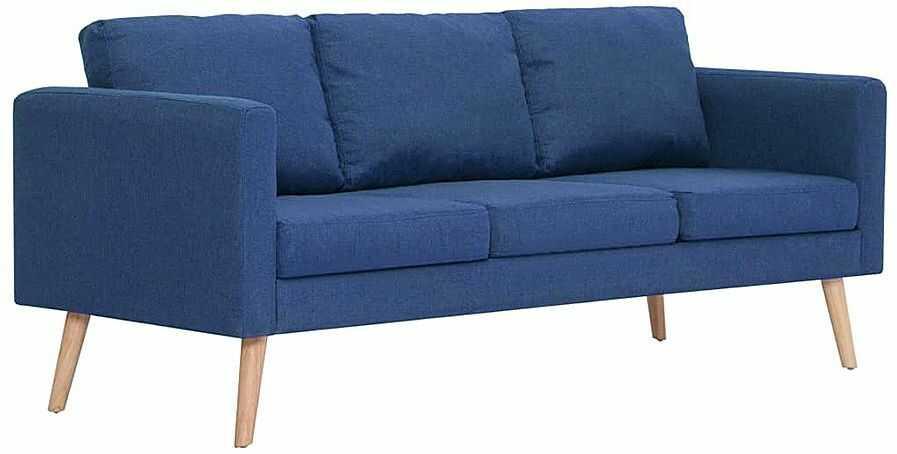 Trzyosobowa niebieska kanapa - Lavinia 3X