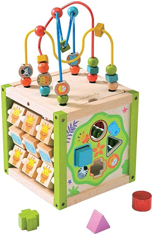 EverEarth My First 5 w 1 Multi Play Activity Cube EE32695