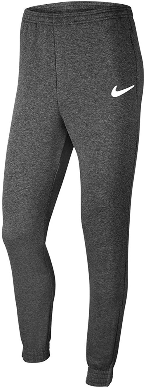 Nike Męskie spodnie do biegania Park 20 szary Węgiel Heathr/biały/biały S