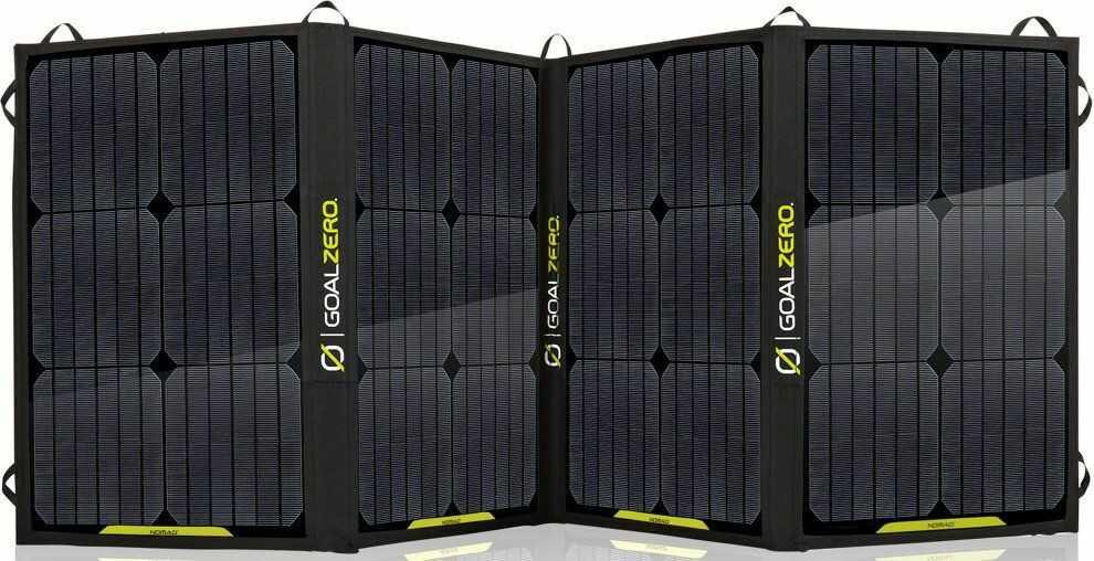 Goal Zero Nomad 100 - mobilny, elastyczny i składany panel solarny o dużej mocy.