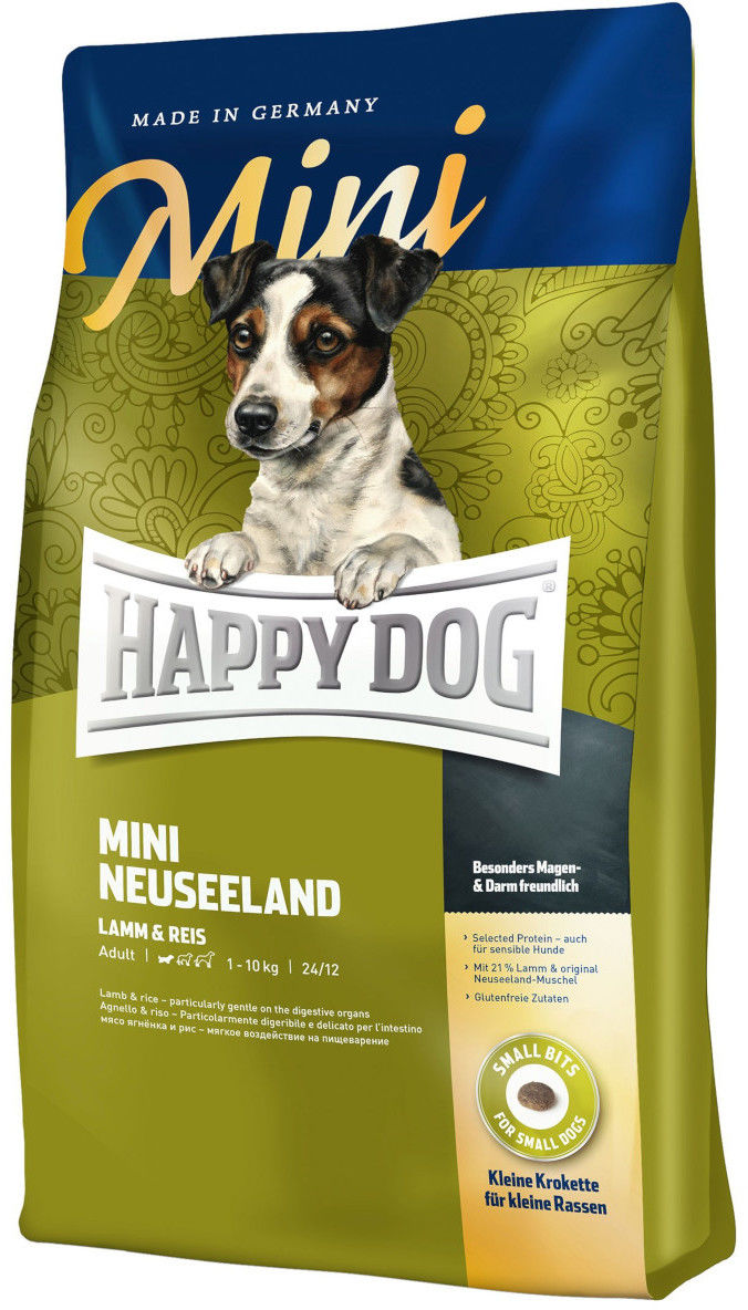 Happy Dog Mini New Zeland 4 kg