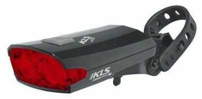 Lampka Kellys Index USB tylna czarna