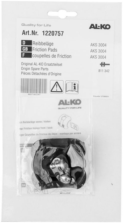 Wkładki cierne AL-KO AKS3004