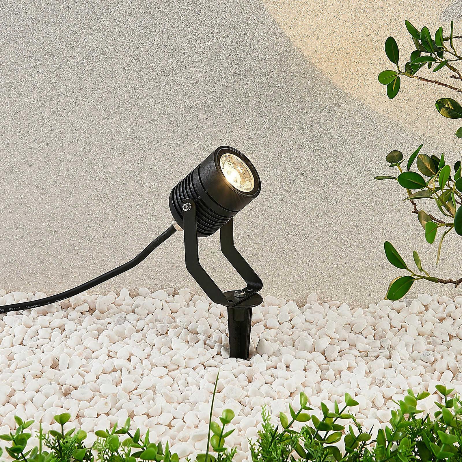 Reflektor zewnętrzny LED Maris, grot ziemny