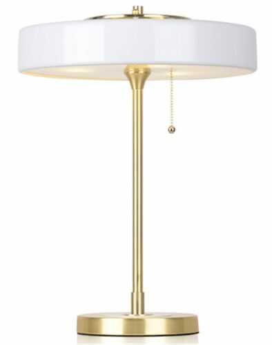 Art Deco 2000 - lampa biurkowa stołowa biała