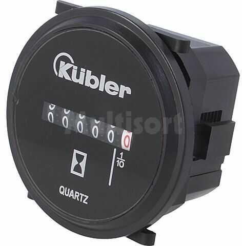 Licznik elektromechaniczny czasu pracy KUBLER Zakres:0 99999,9h