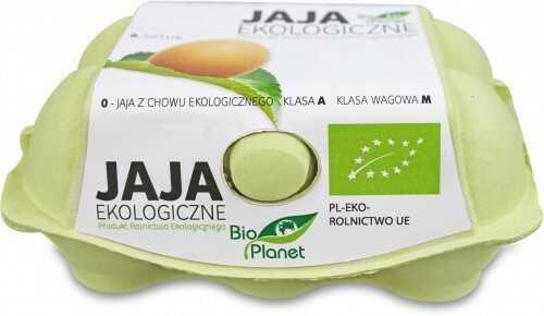 Jaja bio 6 szt. - bio planet