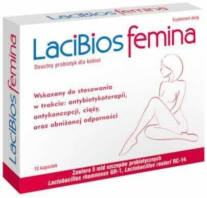 LaciBios Femina 10 kapsułek