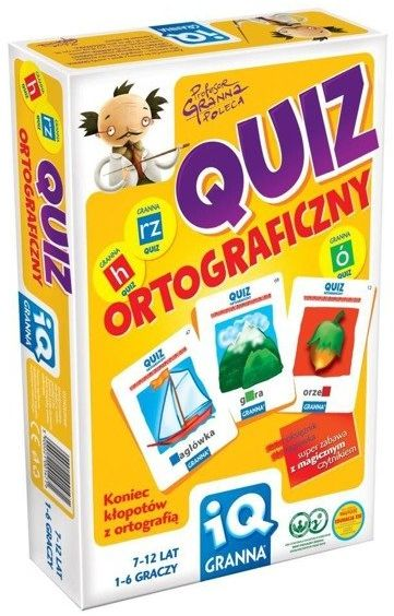 IQ Quiz ortograficzny GRANNA - Granna