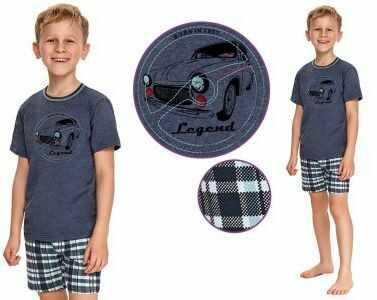 Piżama dziecięca DAMIAN: granat