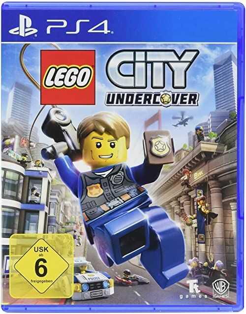 Lego City Undercover [PlayStation 4]  wersja niemiecka