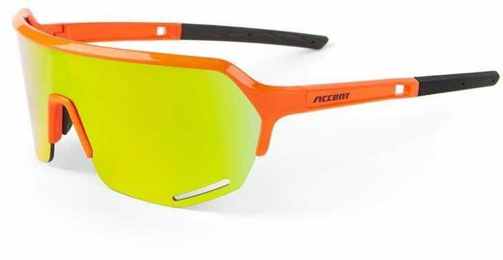 Okulary Accent Hero pomarńczowe, pomarańczowe lustrzane, różowe rozjaśniające