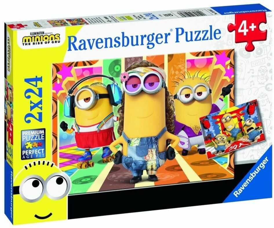 Puzzle 2x24 Minionki 2