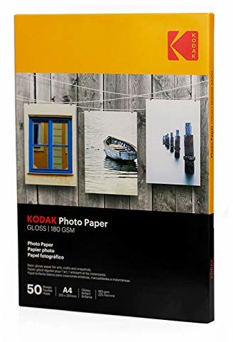 Kodak Supplies 185Z000860 papier fotograficzny A4 50 arkuszy 180 g błyszczący