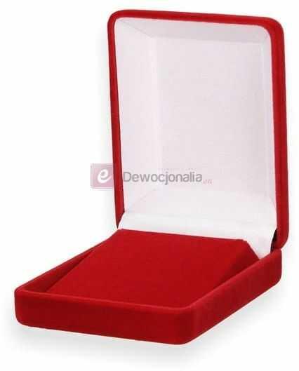Ozdobne pudełko prezentowe czerwone